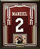 Johnny Manziel Autographed & Framed Jersey