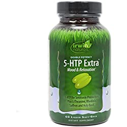 Irwin Naturals Double Potency 5-HTP Extra Supplement, 60 Count
