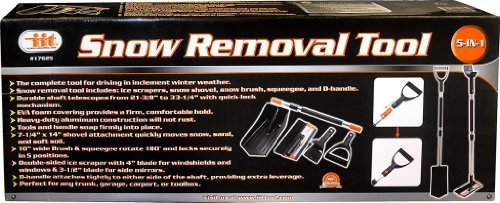 IIT 17625 5 in 1 Snow Removal Tool by IIT by iit