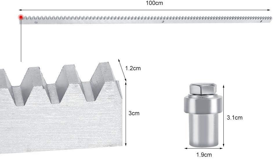 Kit de Abridor de Puerta Corredera Automático Ajustable de 1200KG y 550w con Sonda de Sensor Infrarrojo Diseño Anti Topetón Sistema de Cierre Automatico(#2): Amazon.es: Bricolaje y herramientas