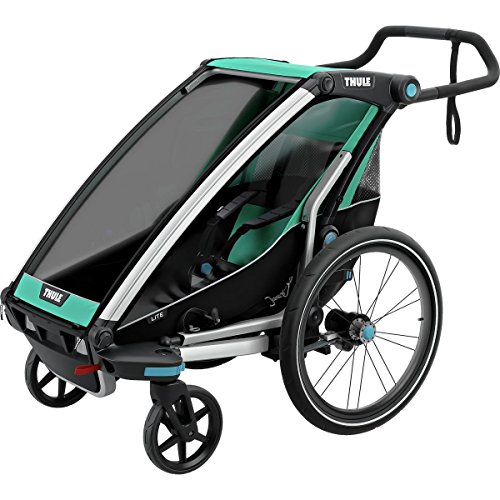 Thule Chariot Chariot Lite Stroller Blue Grass/Black, 1 Kid
