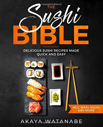 Sushi Bible Delicious Recipes Nigiri product image