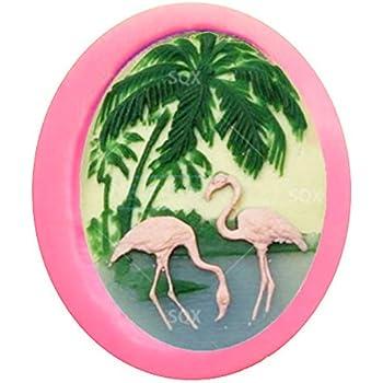 Amazon Com Allforhome Tm 6 Cavity Animal Cake Decoration