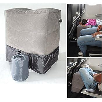 Amazon Com Inflatable Travel Footrest Leg Rest Travel