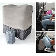 PILLOW FOR KIDS ON FLIGHTS,airplane footrest for kids, jetkids bedbox,footrest sleeper cushion. For long trips by train, car or bus.