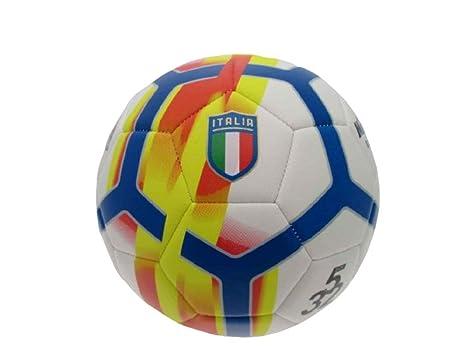 Mikado Balón de fútbol Italia de Piel, tamaño 5 Rabona PS 05477 ...