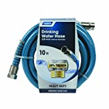 Camco 10ft Premium Drinking Water Hose - Lead and