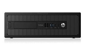 HP ELITEDESK 800 G1 SFF Slim Business Desktop Computer, Intel I54570 3.20 GHz, 8GB RAM, 500GB HDD, DVD, USB 3.0, Windows 10 Pro 64 Bit (Renewed)