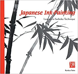 japanese ink painting lessons in suiboku technique designed for