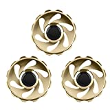 Product review for Premier Class Fingertip Gyro Fidget Spinner High-Speed Classy Hand Spinner Anti-Anxiety EDC Hand Toy for Reducing Stress & Anxiety, Set of 3 (Stack 1)