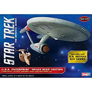 Polar Lights 1/1000 Star Trek TOS USS Enterprise Space Seed Ed
