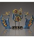 YOJDTD Decorations Decorations Restaurant Decorations Artwork Desktop Decoration, Dancing Girl, Ancient Blue