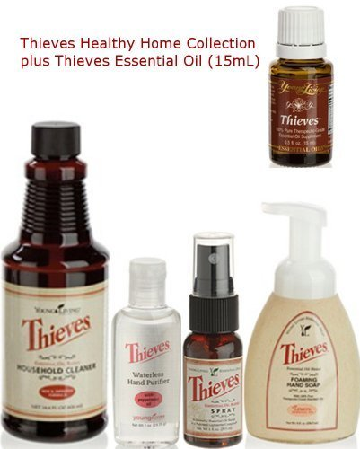 Thieves Healthy Home Kit Plus Thieves Essential Oil by Young Living Young Living Essential Oils