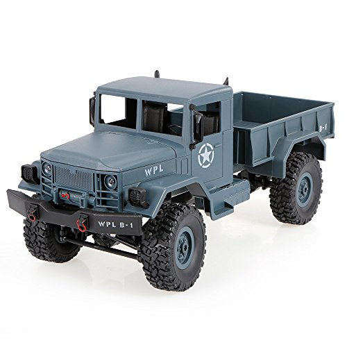 Goolsky WPL B-1 1/16 2.4G 4WD Off-Road RC Military Truck Rock Crawler Army Car