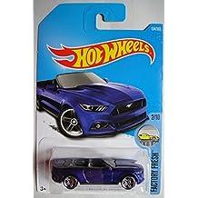 Hot Wheels 2017 Factory Fresh 2015 Ford Mustang GT Convertible 104/365, Blue