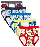 Handcraft Little Boys' Disney Pixar 5 Pack Brief, 8 (Models May Vary)