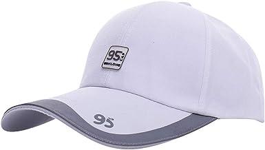 Gorra de béisbol para Hombre Visera Larga, Moda Sombreros Hombre ...