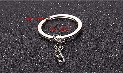 Amazon com: Key Chains - Wholesale 20pcs/lot 25 30mm Round