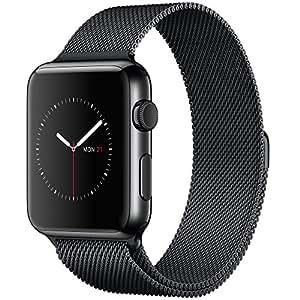 "Apple Watch 1.5"" OLED Negro reloj inteligente - relojes inteligentes (3,81 cm (1.5""), OLED, Pantalla táctil, 18 h, 50 g, Negro)"