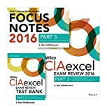 img - for Wiley CIAexcel Exam Review + Test Bank + Focus Notes 2016: Part 3, Internal Audit Knowledge Elements Set (Wiley CIA Exam Review Series) book / textbook / text book