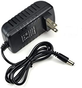 12V 2A Power Adapter, AC100-240V to DC12V Transformers,Power Supply for LED Strip Light,Wireless Router,ADSL Cats,Security Cameras,2A Max, 24 Watt Max 2.5mm X 5.5mm US Plug