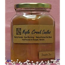 Maple Creek Candles PUMPKIN PIE ~ Spectacular Scent ~ Soy Wax Blend 7oz candle
