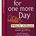 For One More Day Audiobook by Mitch Albom Narrated by Mitch Albom