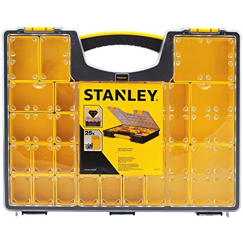 - Stanley 014725 25-Removable Compartment Professional Organizer