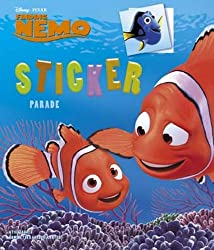 Disney Sticker Parade Finding Nemo X3