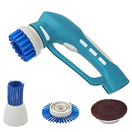 Amazoncom Electric Cleaning Brush Power Spin Scrubber Brushes For - Electric bathroom cleaning brush