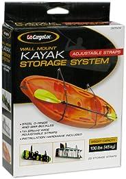 CargoLoc 32524 Wall Mount Kayak Storage Straps