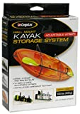CargoLoc 32524 Wall Mount Kayak Storage Straps
