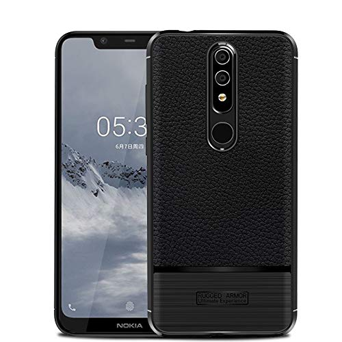 newest e804c ba343 Amazon.com: Nokia 5.1 Plus Case, Cruzerlite Flexible Slim Case with ...