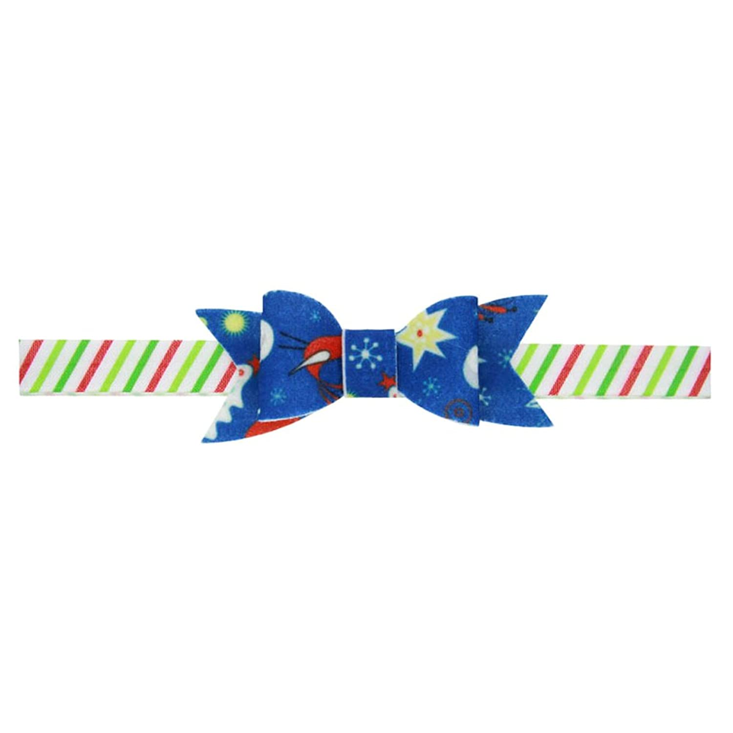 Zhhlaixing Kids Baby Girls Toddler Christmas Tree Prints Headband Hairband Flower Hair Accessories for Christmas/Photography Pops/Costume/Party