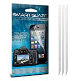 ONX3® SmartGlaze Nokia N9 Case Custom Made Crystal Clear Premium LCD Screen Protectors Packs With Polishing Cloth & Application Card