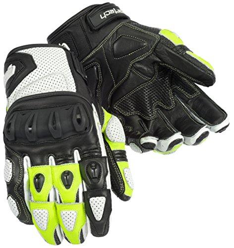 (Cortech Men's Impulse ST Glove White/Hi-Viz)