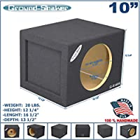 10 Single Sealed Sub Box Subwoofer Enclosure
