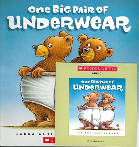 One Big Pair of Underwear (Paperback and Read Along CD) by Laura Gehl (2015-08-01)
