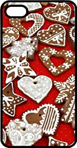 Ginger Bread Cookies Tinted Rubber Case for Apple iPhone 4 or iPhone 4s