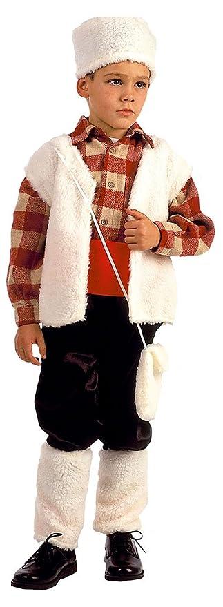 EL CARNAVAL Disfraz Pastor niño Talla XS (2-4años): Amazon.es: Hogar