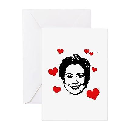 Amazon Cafepress Hillary Clinton Greeting Card Note Card