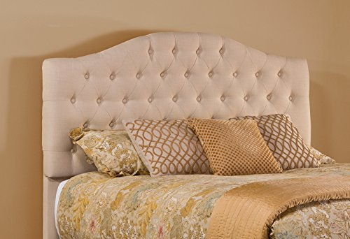 Hillsdale 1125-670 Upholstered Headboard without Frame, King, Linen Beige by Hillsdale (Image #1)