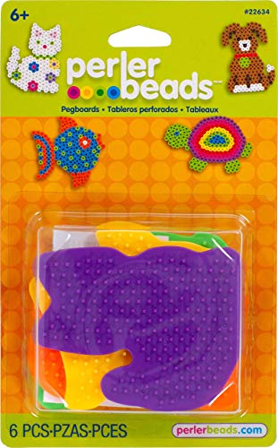 (Perler Beads Small Animal Pegboards - 4 Count)