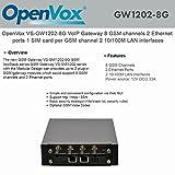 OpenVox VS-GW1202-8G VoIP Gateway 8 GSM channels