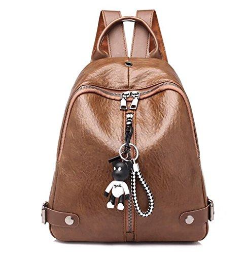 à souple mode multifonctionnel 25 en main sac de sac décontracté femmes 15 Sac 30cm PU la des à cuir dos xqEPvpESYw