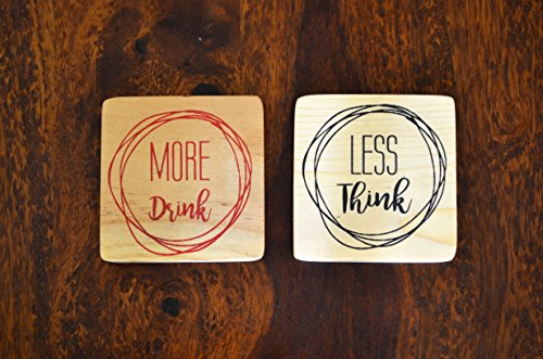 Kavi The Poetry-Art Project Wooden Coasters, Square Coasters, Quirky Coasters, Coasters Set, Cup Mat, Drink Wine Mats, Wooden Mats, Tea Pad, Placemats, Decor Office, Kitchen Accessories