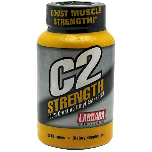 Labrada Nutrition C2 Strength, 120 Caps