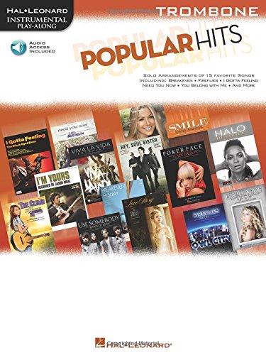 Read Online Popular Hits: Instrumental Play-Along for Trombone PDF