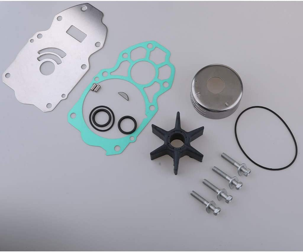 kesoto 6CE-W0078-01 Water Pump Kit for Yamaha 6 Cyl 4 Stroke 4.2L SHO225 250 300
