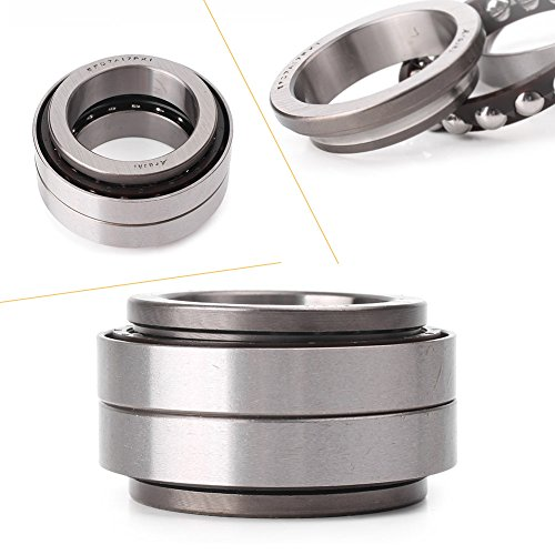 GZYF Motorcycle Steering Stem Head Bearing Seal Kit for Kawasaki All 600cc-1000cc & ZX6R ZX9R ZX10R ZX14R & Honda CBR1000RR (Steering Stem)
